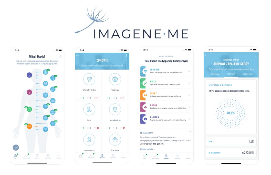 Aplikacja IMAGENE.ME