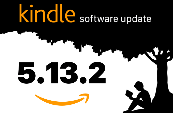 Kindle Firmware Update 5.13.2