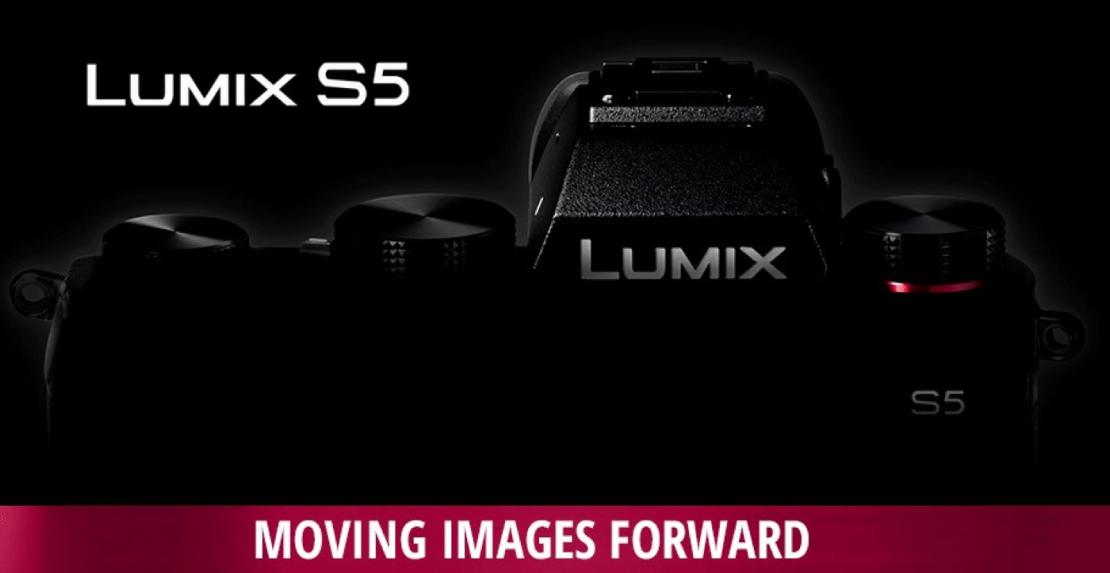 Lumix S5 - teaser