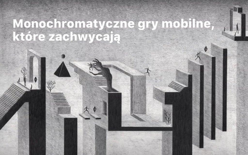 Monochromatyczne gry mobilne