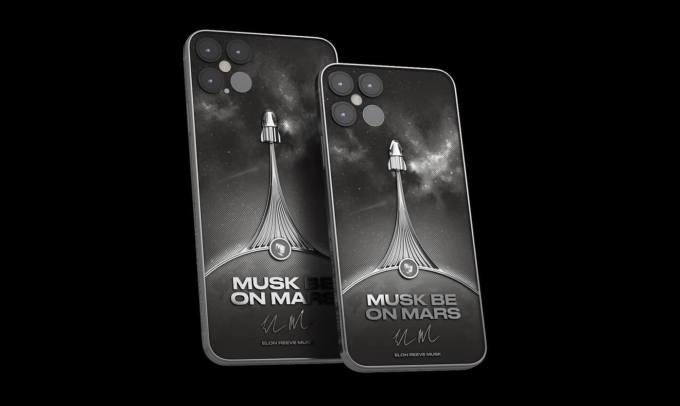 iPhone 12 – Musk be on Mars  (Caviar)