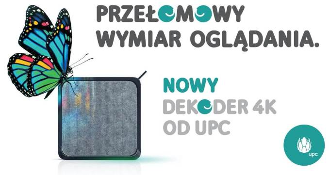 Nowy dekoder 4K TV BOX od UPC