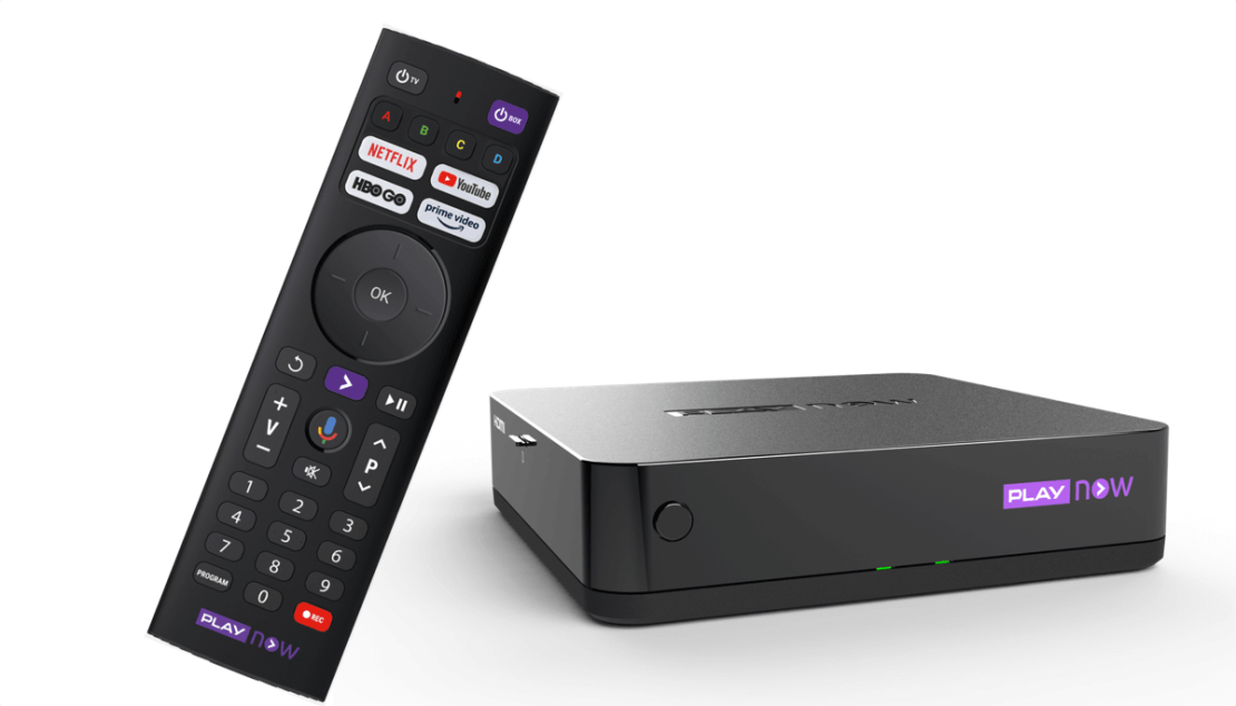 Nowy PLAY NOW TV BOX i pilot