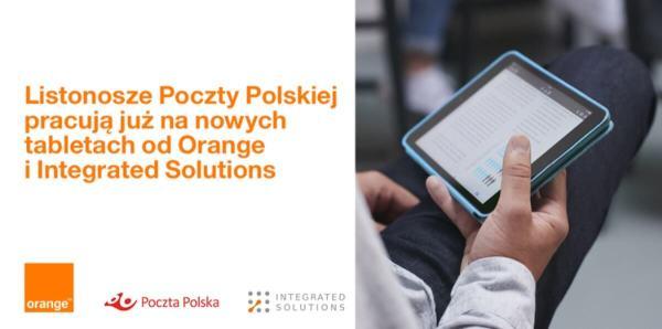 Mobilni listonosze z nowymi tabletami od Orange