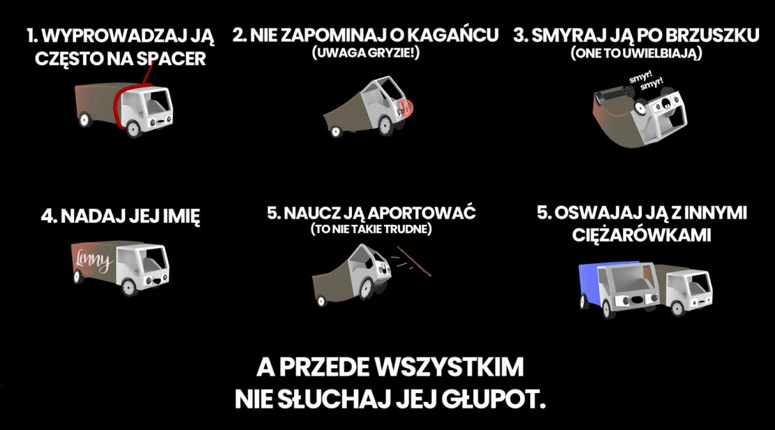 TOP CIĘŻARÓWKOM! (akcja Krzysztofa Gonciarza)
