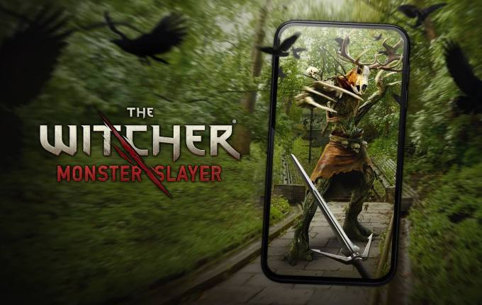 "Gra mobilna ""the Witcher: Monster Slayer"""