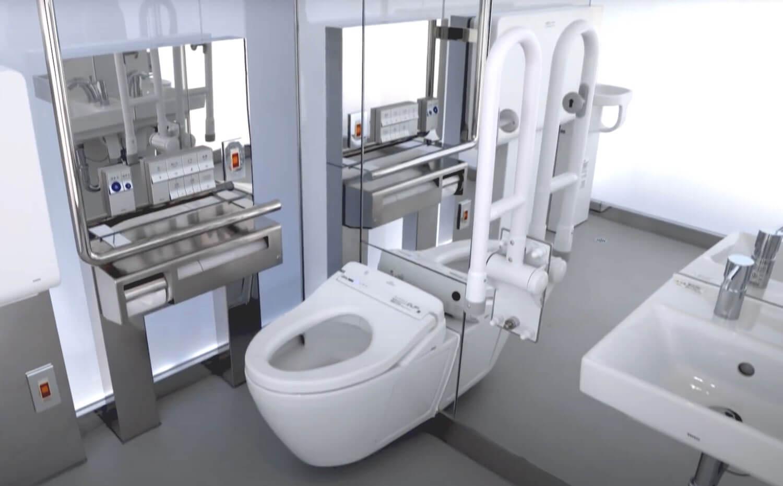 Tokyo Toilet w środku