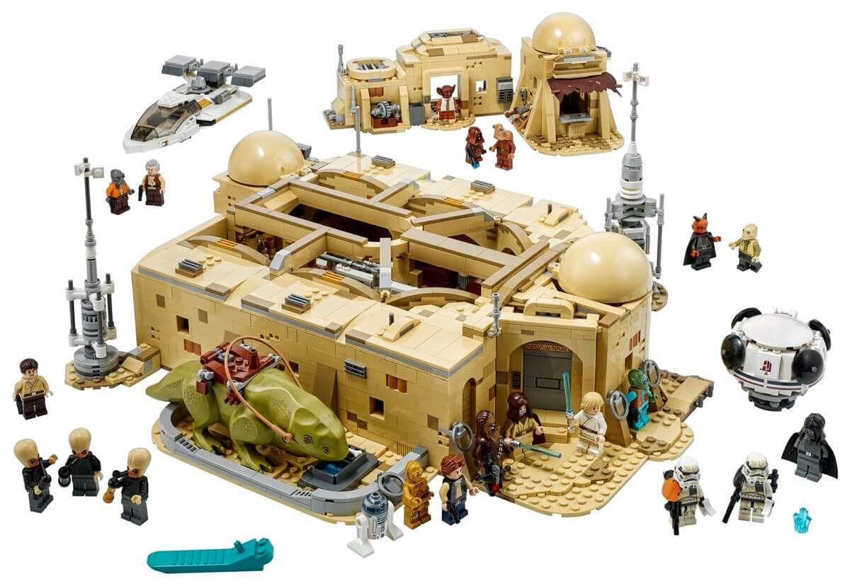 Kantyna Mos Eisley™ LEGO #75290 (elementy)