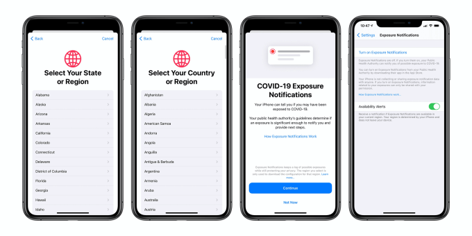 COVID-19 Exposure Notifications Express w iOS 13.7
