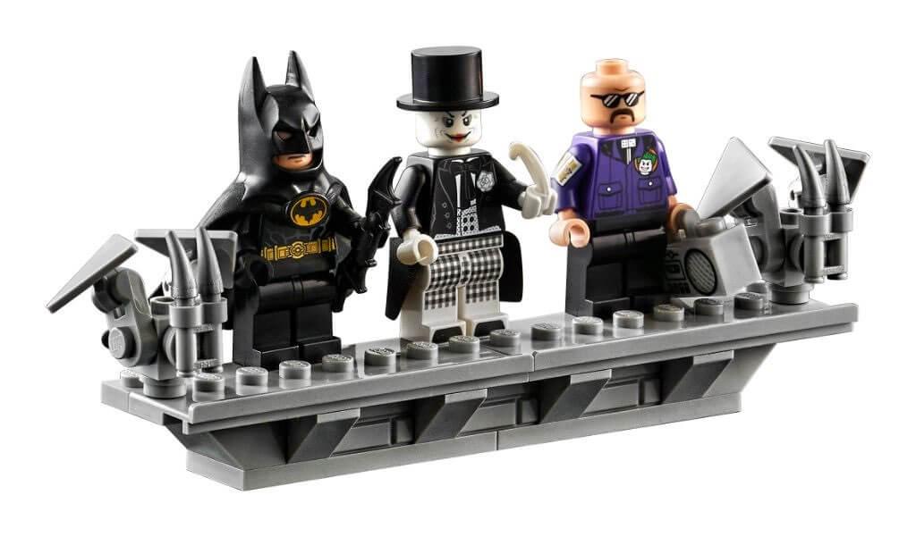 Figurki Batmana, Jokera i Boomboksa z LEGO Batman Batwing z 1989 roku (76161)