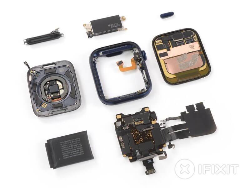 Apple Watch Series 6 (iFixit) - części