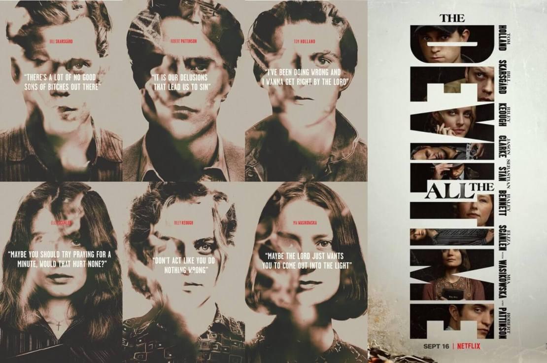 "Film ""Diabeł wcielony"" (The Devil All the Time) Netflix 2020"