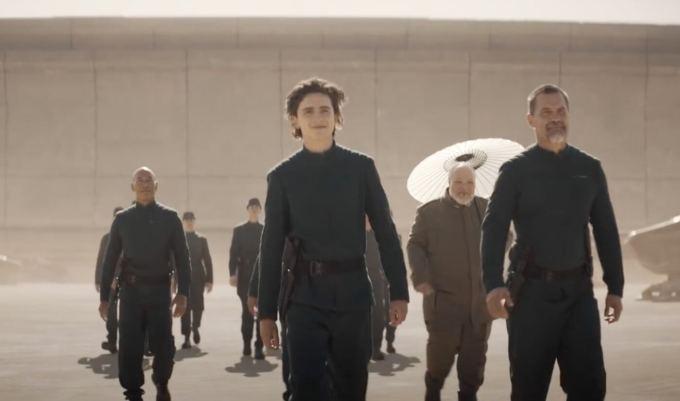 """Kadr z filmu """"Dune"""" (2020)"""