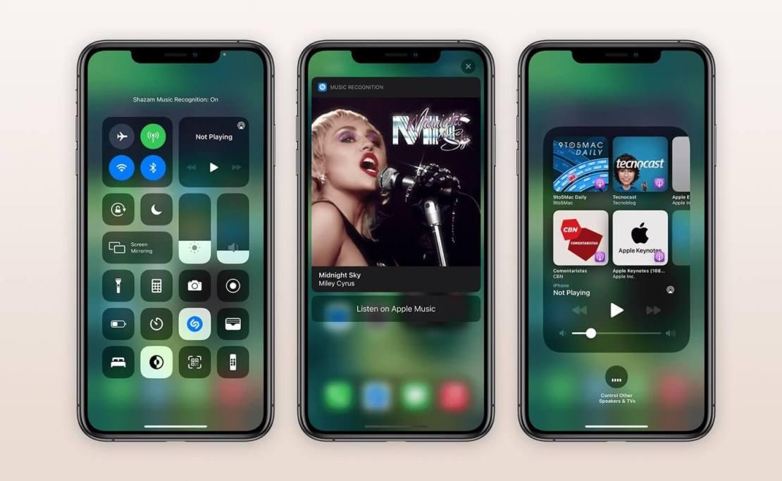 Zrzuty ekranu z aplikacji iOS 14.2 (nowe opcje)