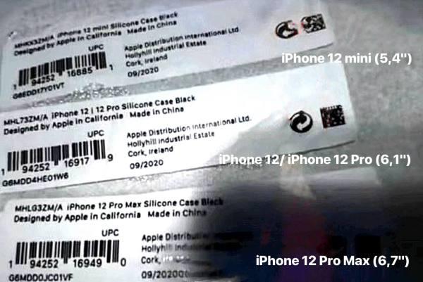 Jak będą nazywały się iPhone'y 12? Będzie iPhone 12 mini?