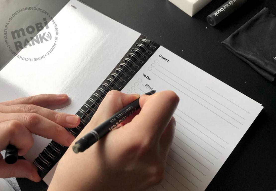 Jak się pisze w Infinitebook?