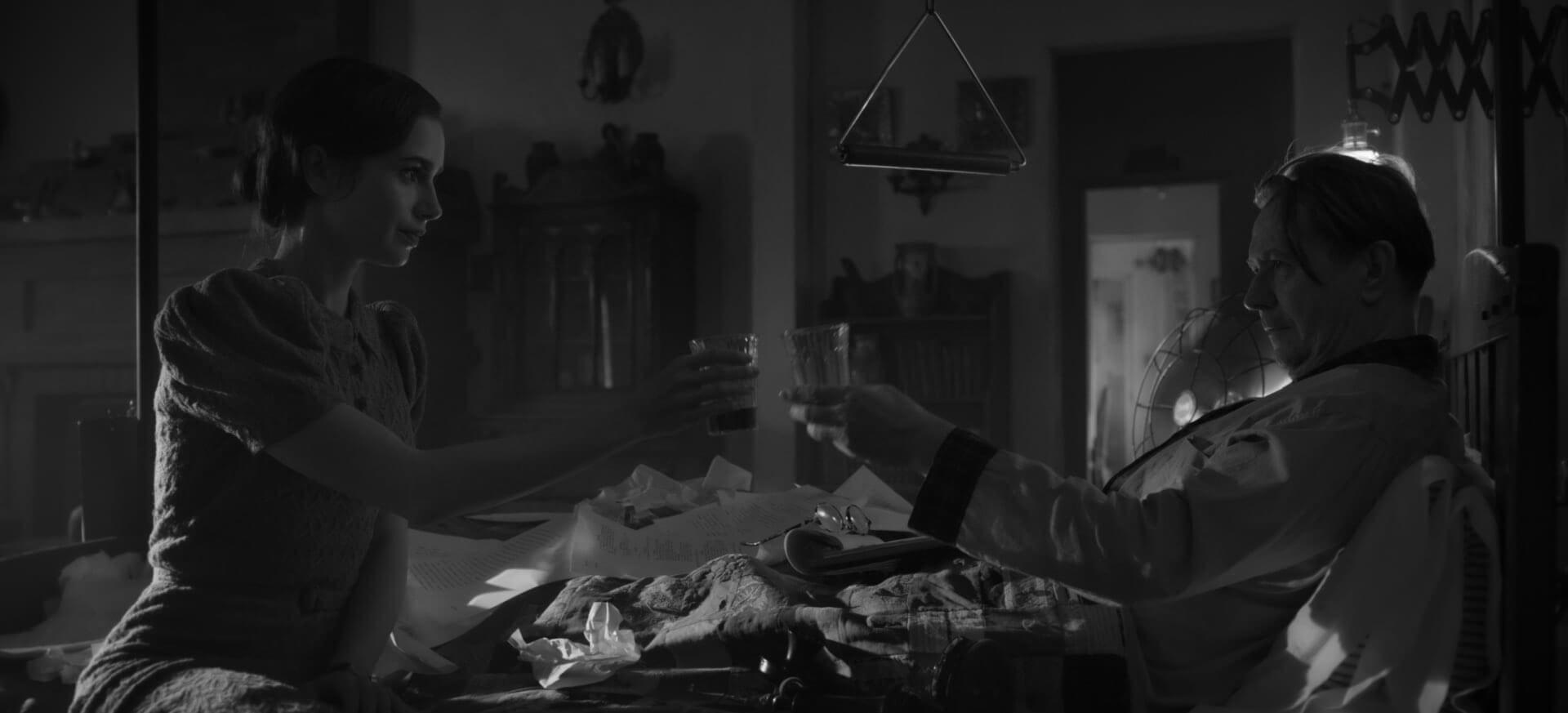 Ujęcie z filmu Mank (Netflix, 2020)