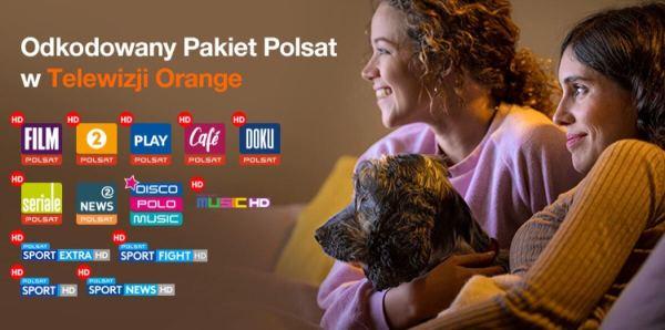Telewizja Orange z odkodowanym Pakietem Polsatu do 3 listopada