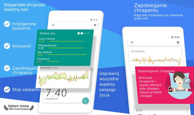 Sleep as Android - aplikacja mobilna