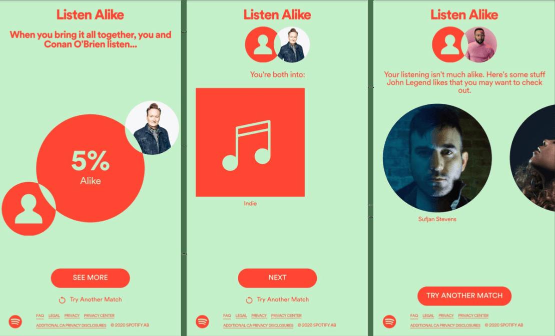 Spotify – Listen Alike na urządzeniach mobilnych