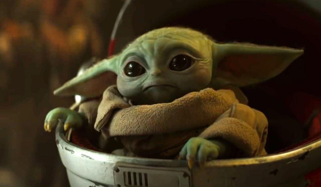 "Serial ""The Mandalorian"" 2. sezon Baby Yoda"