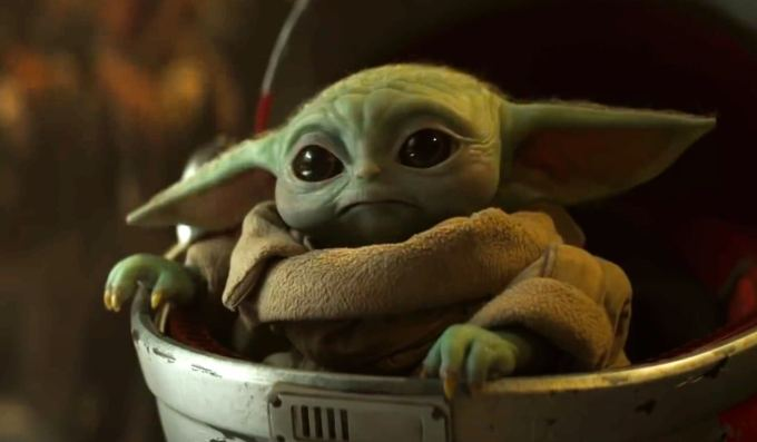 "Serial ""The Mandalorian"" 2. sezon Baby Yoda"