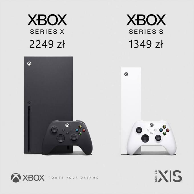 Polskie ceny konsol: Xbox Series X i Xbox Series S