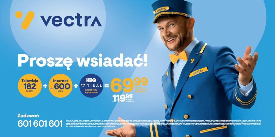 Vectra – kampania jesień 2020