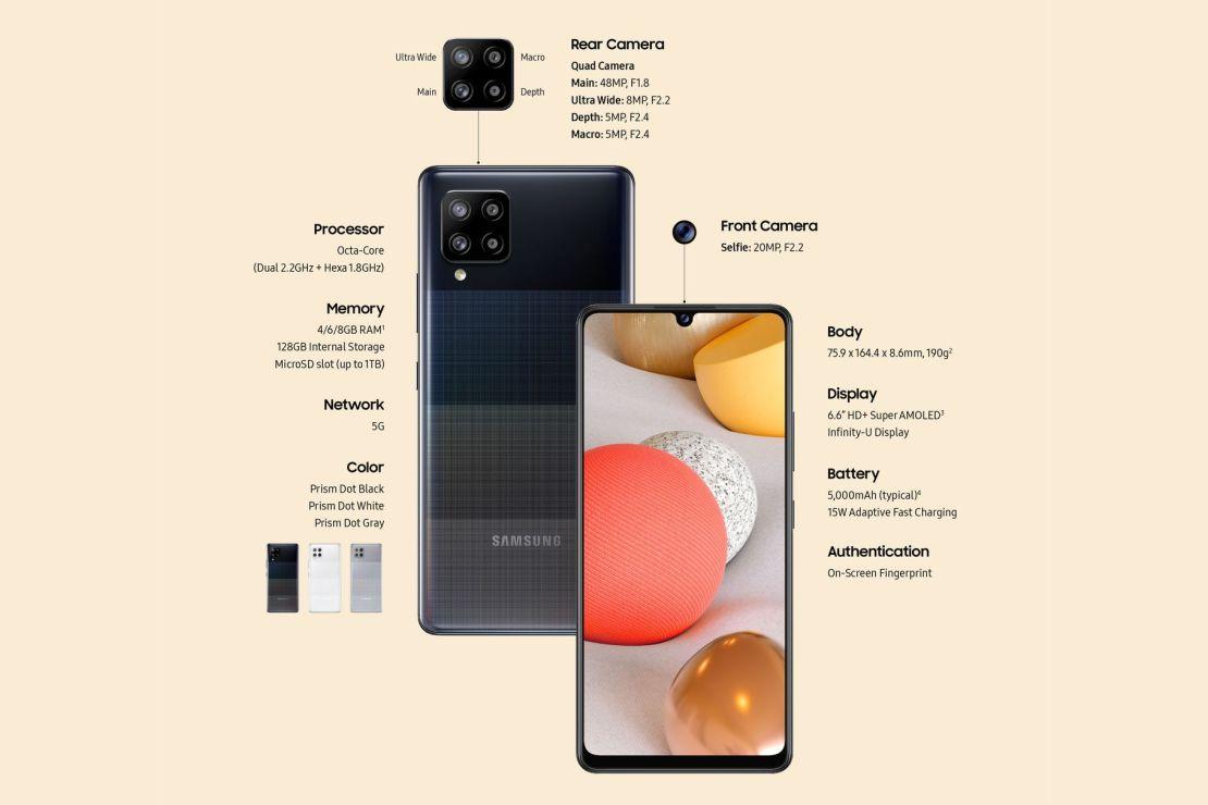 Samsung Galaxy A42 5G (specyfikacja)