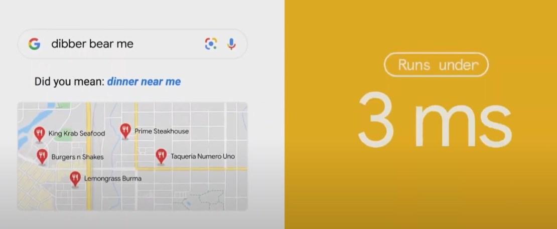 Rozpoznawanie literówek w wyszukiwarce Google