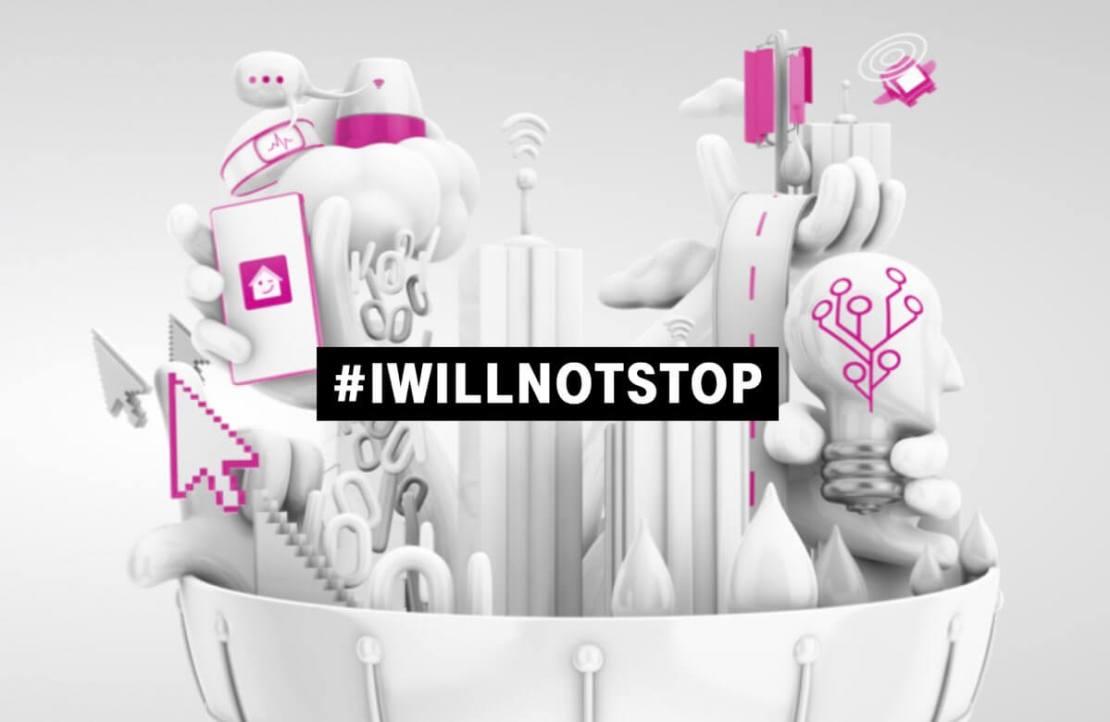 #IWILLNOTSTOP - kampania T-Mobile skierowana do specjalistów IT