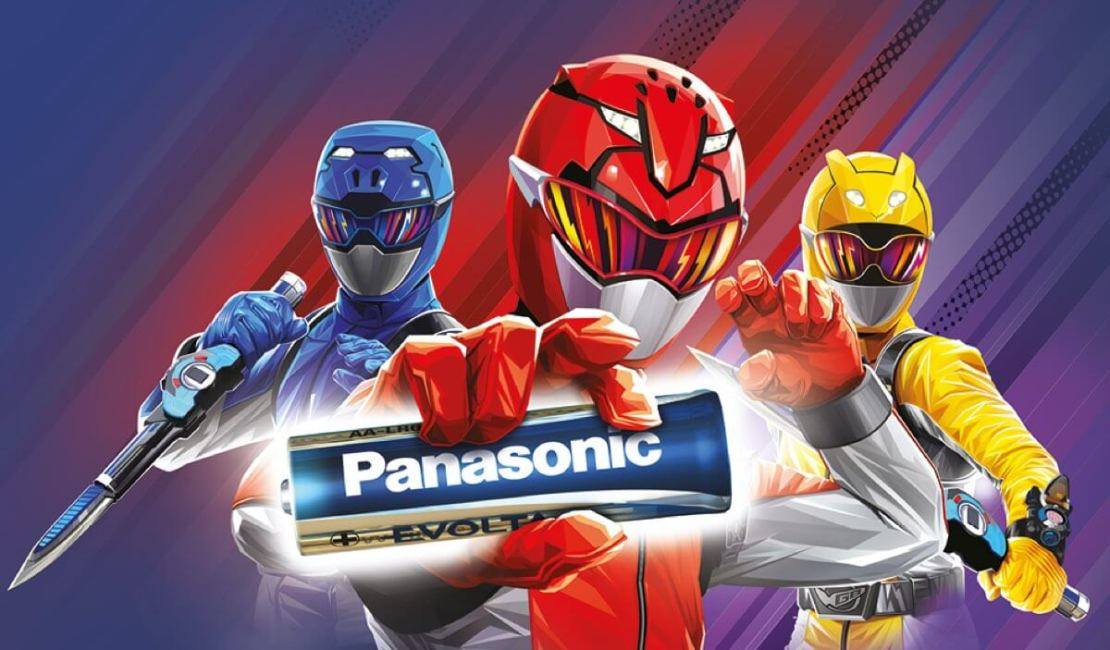 Konkurs Panasonic - Power Rangers