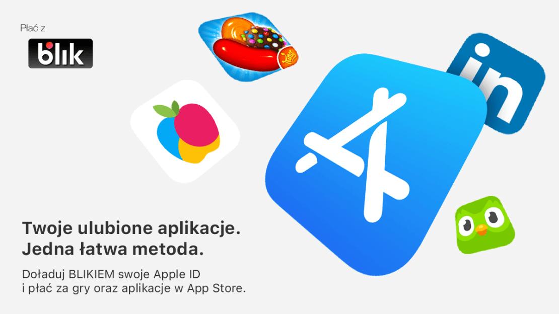 Płatności BLIKIEM w sklepie App Store