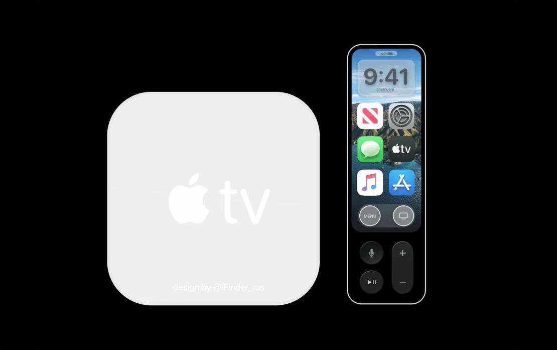 Apple TV 6. gen. (koncept) white
