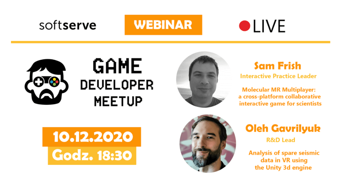 Game Developer Meetup Online 2020 (Agenda)