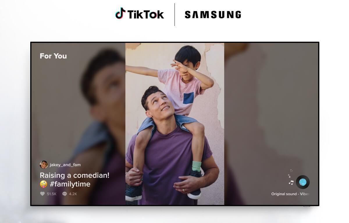 Aplikacja TikTok na Samsung Smart TV