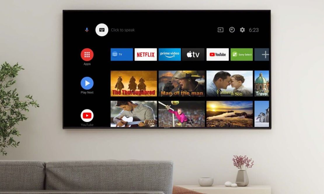 Apple TV na Google TV