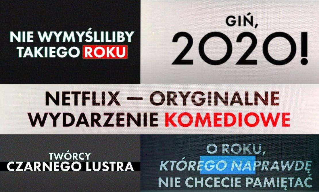 Giń 2020! (Death to 2020) Netflix