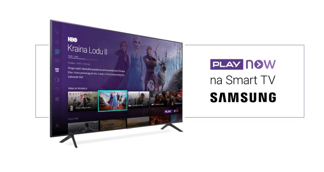 PLAY NOW na smart TV Samsung