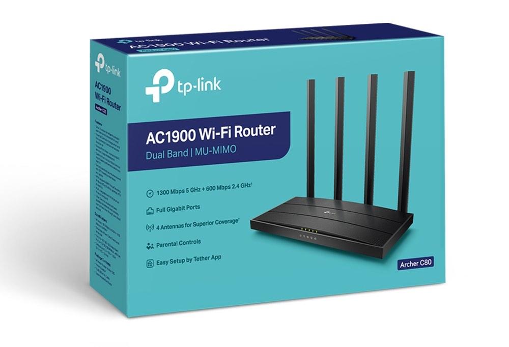 Pudełko routera TP-Link Archer C80