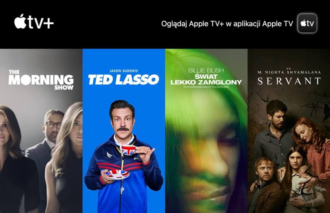 Kredyt sklepowy w Apple TV+ od lutego do czerwca 2021 roku