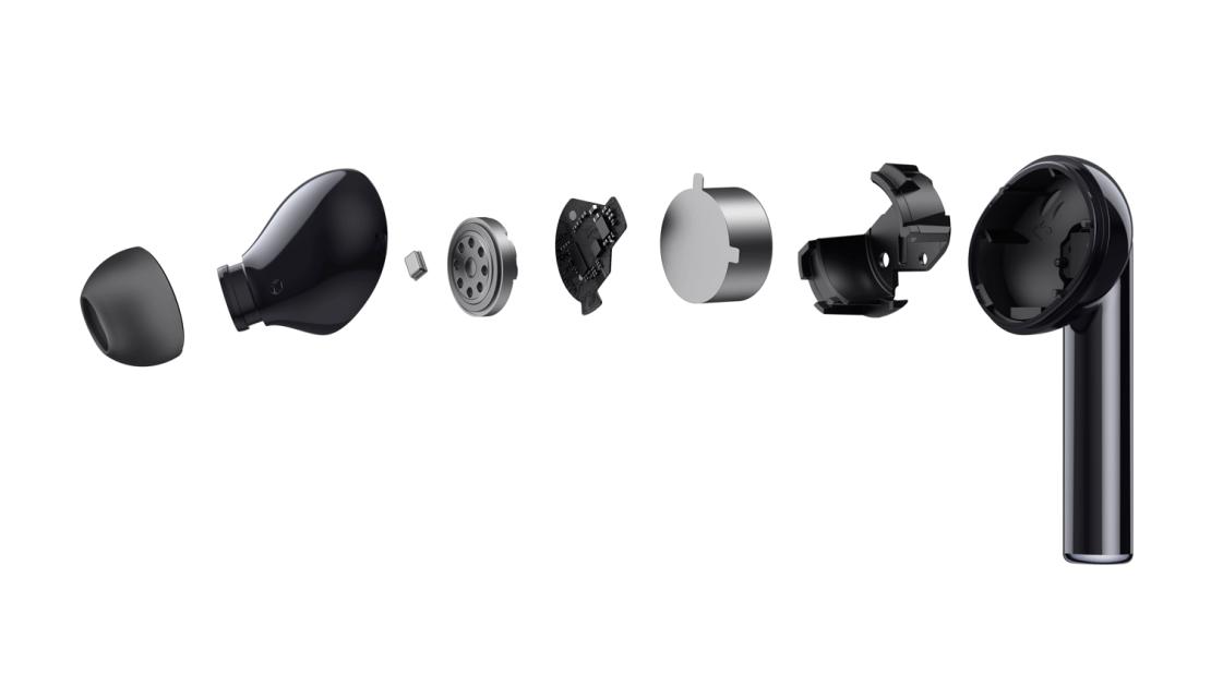 Budowa słuchawki realme Buds Air Pro