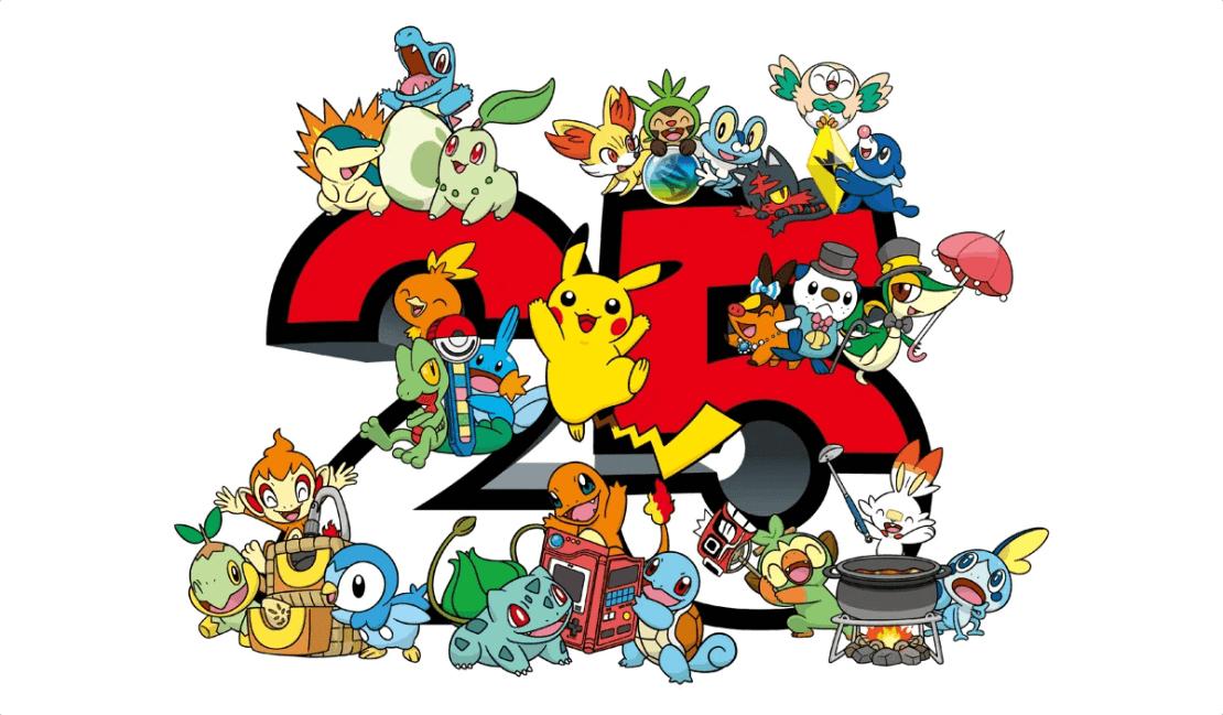 25 lat Pokemonów