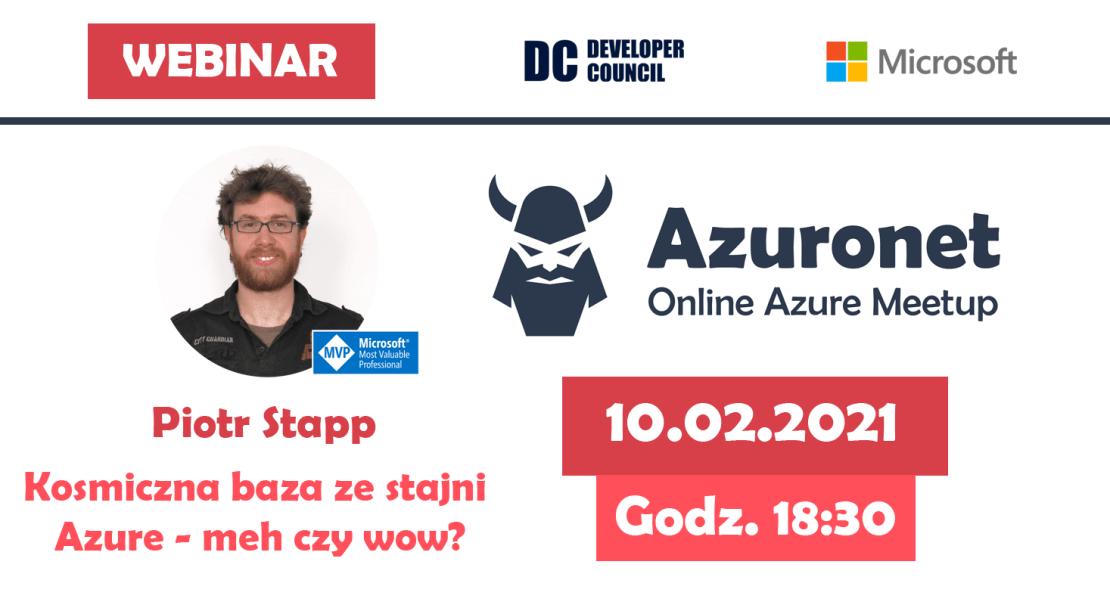 Azuronet - Online Azure Meetup #18