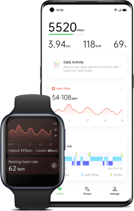 HeyTap Health Oppo Watch