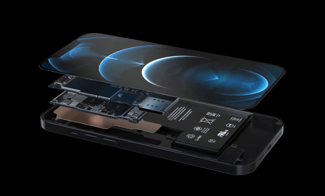 iPhone 13 - koncept Always Display On