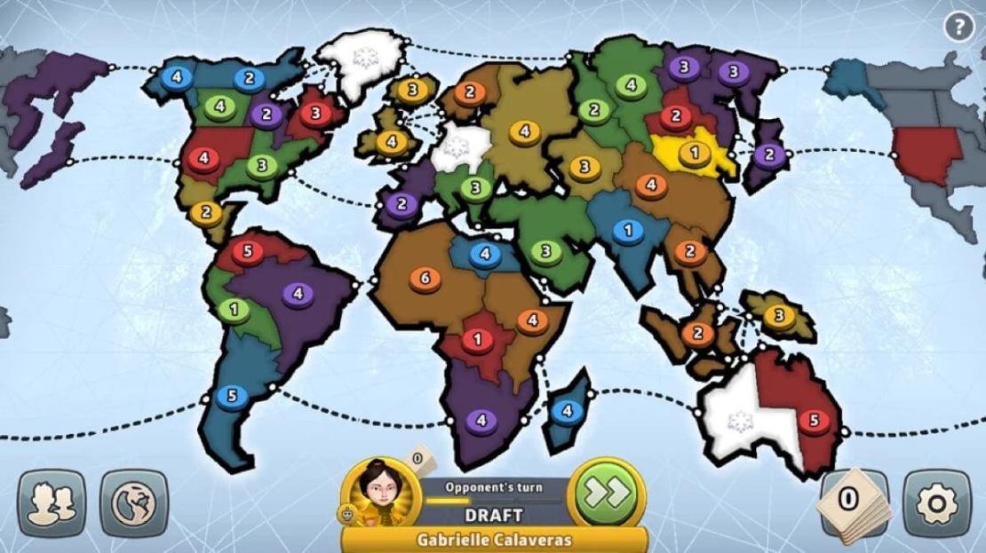 Zrzut ekranu z gry mobilnej RIS: Global Domination