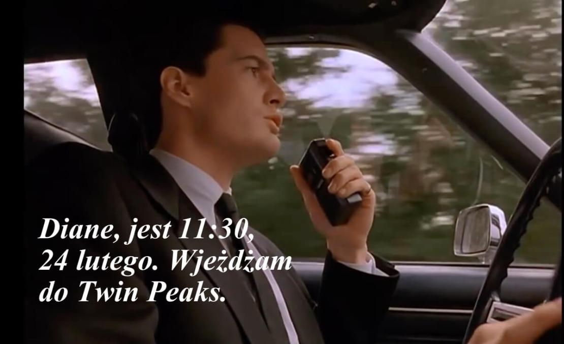 Agent Cooper – Dzień Twin Peaks – 24 lutego