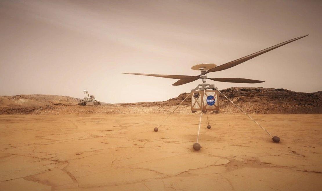 Ingenuity - marsjański helikopter
