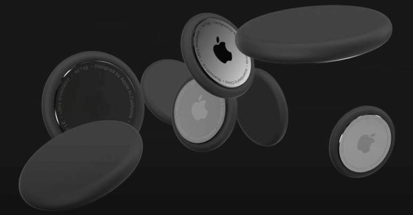 AirTags firmy Apple - koncepcja